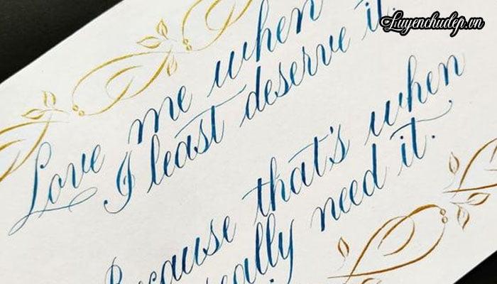 Calligraphy là gì? Cách Luyện Chữ Calligraphy