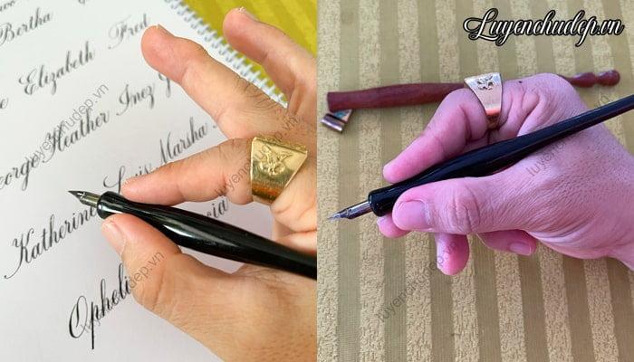 Cách cầm bút quản đứng đúng cách