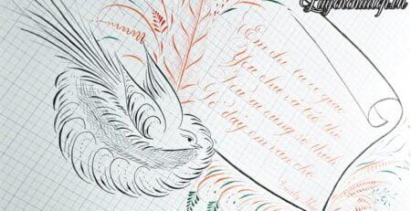 Luyện chữ Calligraphy cần mua những gì