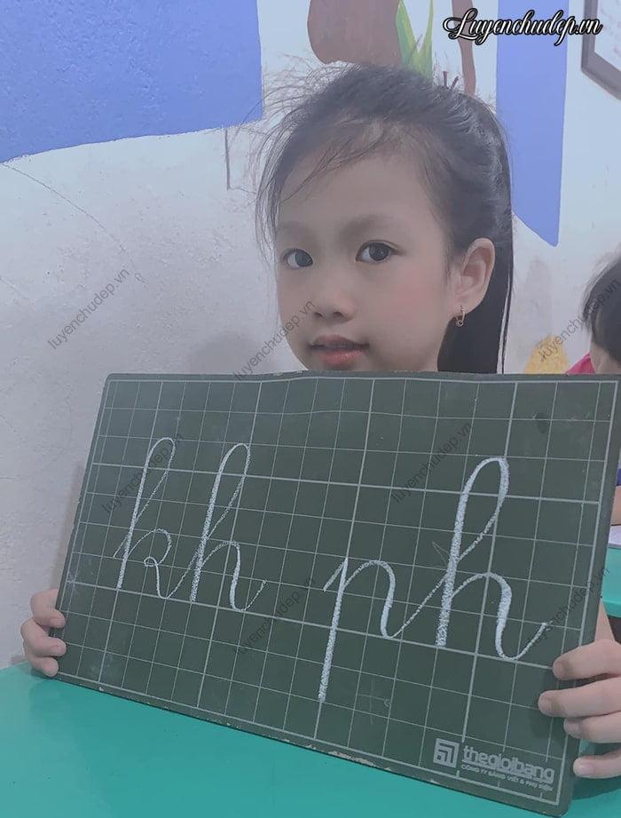Quy trình luyện chữ đẹp cho bé học sinh lớp 3
